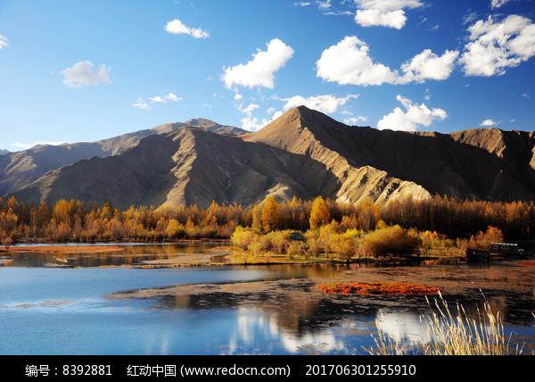 湖泊美景图片