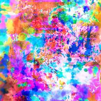 抽象 印花