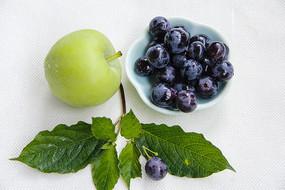 生态青苹果葡萄