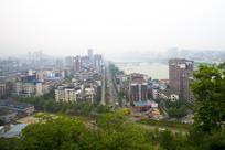广元市鸟瞰