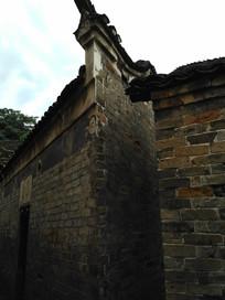 明清老房子马头墙