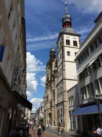 欧洲建筑街道