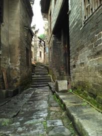 老房子小路巷子