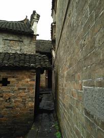 马头墙老房子巷子