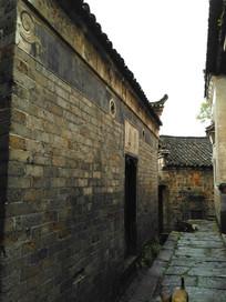 明清青砖灰瓦老房子