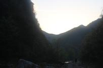 深山山谷自然风景