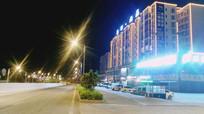 夜晚的街道