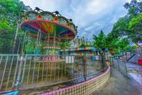 惠州下埔滨江公园的游乐场