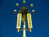 天安门广场的灯饰
