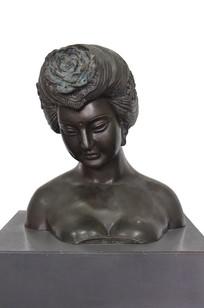 杨贵妃青铜头像