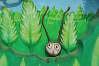 绿树蚂蚁壁刻