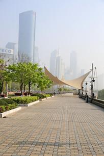 南昌红谷滩街景