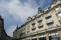 欧洲城镇建筑