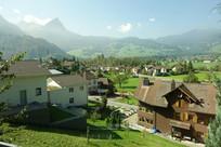 欧洲村镇山区建筑