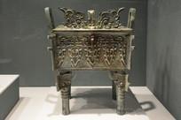 西周早期曾侯铜方鼎
