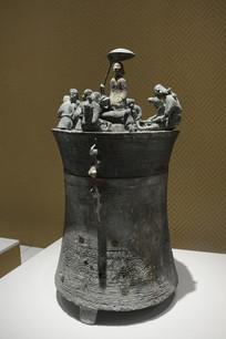 战国青铜贮贝器