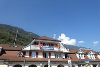欧洲坡屋顶建筑景观