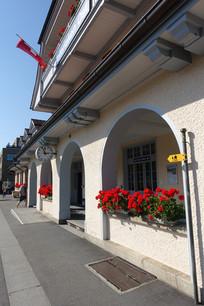 欧洲小车站景观