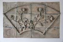 砖雕菊花图