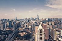 城市全景图