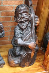 寻埔渔女木雕