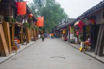 阆中古城老街
