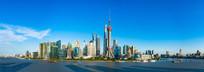 中国上海全景图