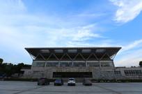 中南民族大学的体育馆