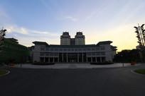 中南民族大学的图书馆