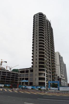 城市发展与高楼建设