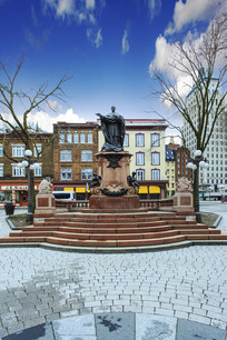 城市中心公园雕塑