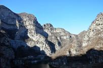 冬季的石头山脉