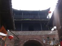 凤凰古城城门拍摄