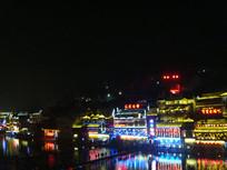 凤凰古城夜景美景