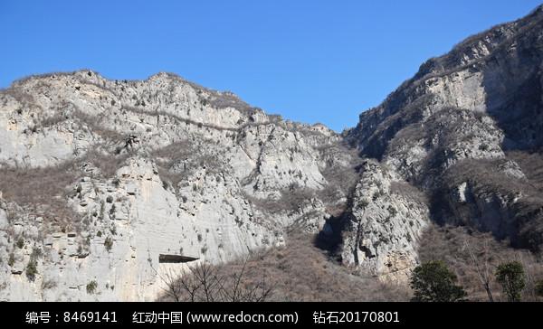 高山断崖风景图片