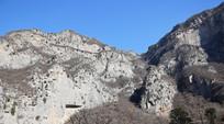高山断崖风景