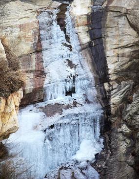 河道冰凌景观