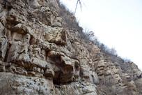 裸露的岩石