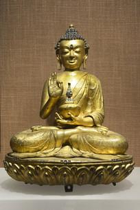 明代西藏弥勒佛像