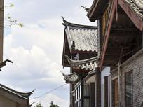 民族特色建筑屋檐