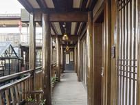 木制观景走廊