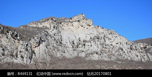 山体断崖景观图片