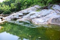 石头河道景观