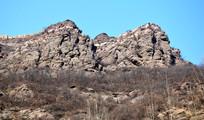 石头山峰特写图片
