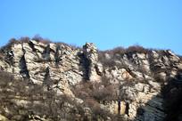 石头山崖高清图片