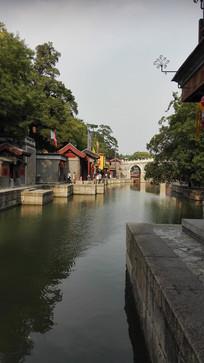中国园林古河道