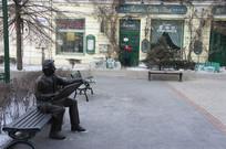 中央大街绘画雕塑