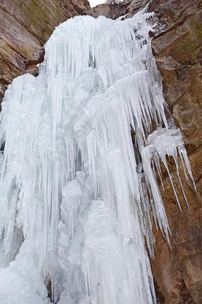 壮美的冰瀑