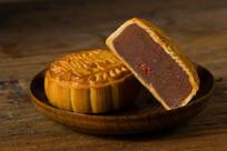 紫薯枸杞月饼