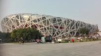 北京鸟巢外观